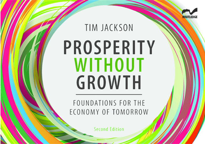 Book Cover | Prosperity Without Growth, 2nd edition 2017